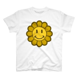 スマイルフラワー T-Shirt