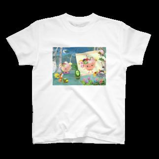 さとうめぐみ絵本グッズのあんみつひめさま T-shirts