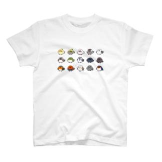 ことりシリーズ T-shirts
