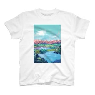 初夏、花の森 T-shirts