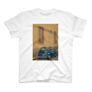 イタリア式駐車方法 T-shirts