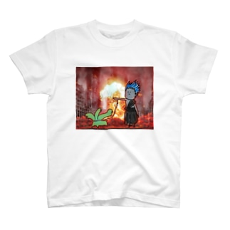 はですとペットのけるべろす T-shirts