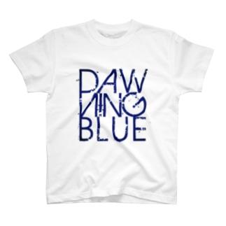 DAWNING BLUEのロゴ T-shirts
