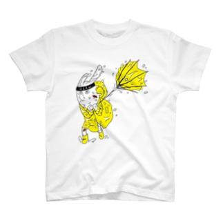 台風にも負けないMCミサキング T-shirts