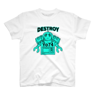 DESTROYER Yo74 T-shirts