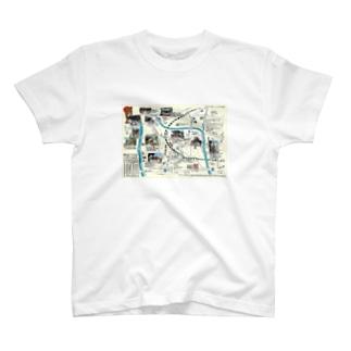 H27初詣マップ T-shirts