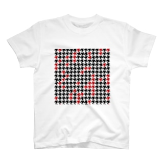 Hounds Tooth Check01 T-shirts