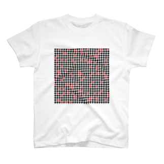Hounds Tooth Check02 T-shirts
