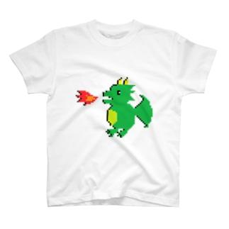 ドットドラゴンTシャツ T-shirts