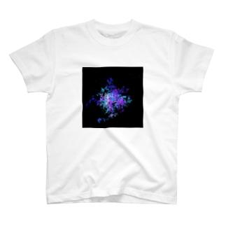 Pastel Galaxy(Blue and Purple) T-shirts