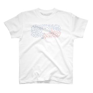 迷路tシャツ T-shirts