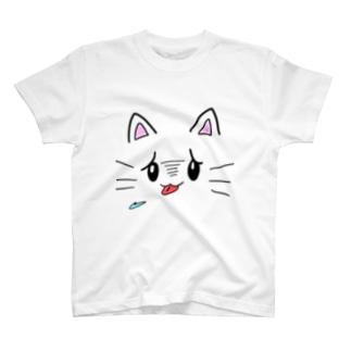 あくたいをつくねこ T-shirts