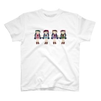 少女人形ちゃん T-shirts