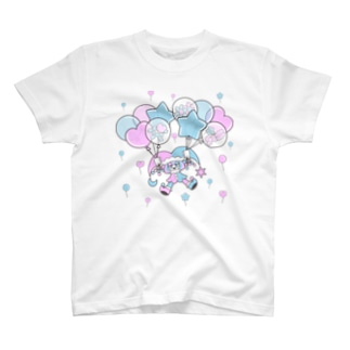 Floating on a Balloon T-shirts
