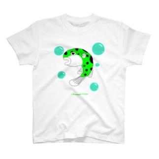 ミドリフグのふぅちゃん T-shirts