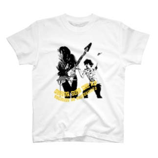 ギターソロ中のボーカリストの過ごし方 T-shirts