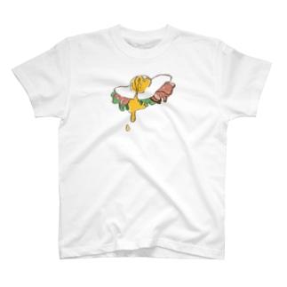目玉焼きトロトロ派 T-shirts