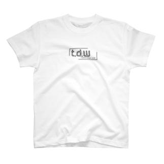 T.D.Wロゴ T-shirts