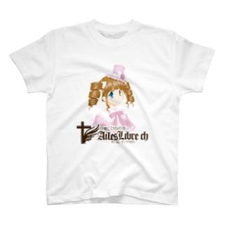 えいるりぃぶるch ロゼッタ(バストアップ) T-shirts