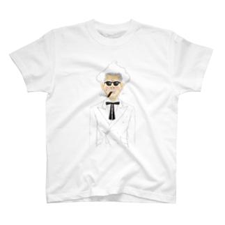 カワハラサンダース T-shirts