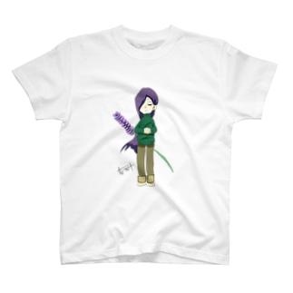 ラベンダーちゃん T-shirts