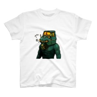 オート三輪マンTシャツ T-shirts