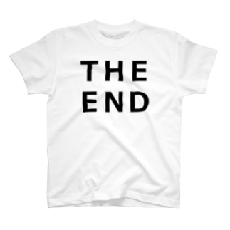 THE END (黒) T-shirts