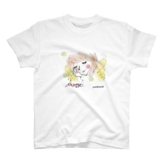 エンジェルのうたた寝 T-shirts