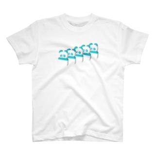 ドミノパンダ T-shirts