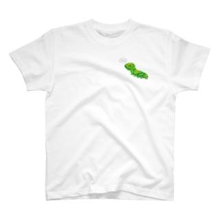 ナミアゲハの幼虫 T-shirts