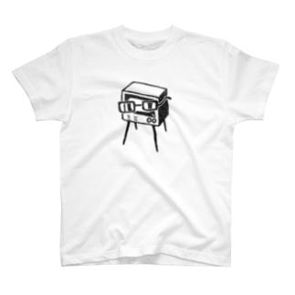 近視のテレビ T-shirts