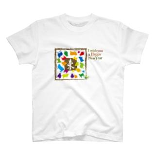 羊のイラスト T-shirts