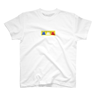 Ghost×Cats!!!-yellow- T-shirts