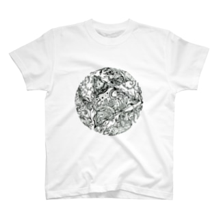 Tripled ビジュアルイラスト T-shirts