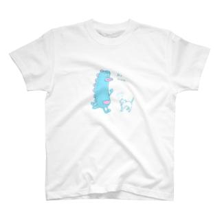 怪獣てくてく T-shirts