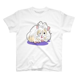 レディ・ペルビアンモルモット T-shirts