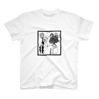 たたちばな@UROOBOE.comの今宵顔面 T-shirts
