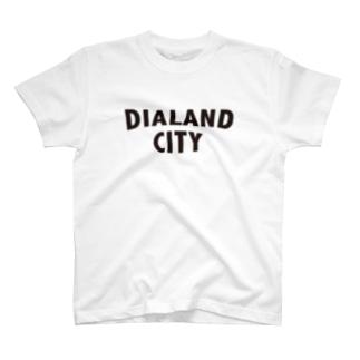 DIALAND CITY BLACK T-shirts