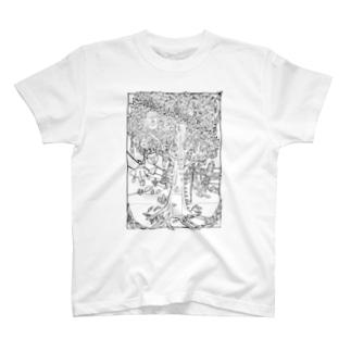 夢への扉 T-shirts