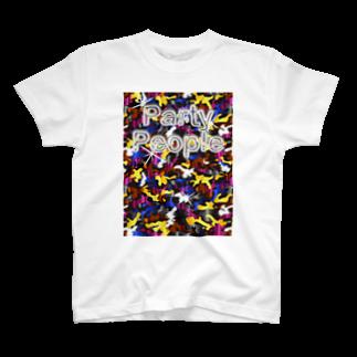 Smoking-Apparelのパリピ迷彩Tシャツ T-shirts
