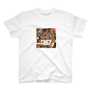 レトロフューチャー女子 T-shirts