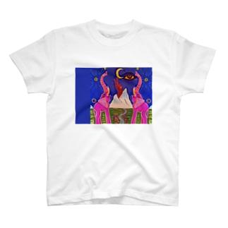世界の中心でパオと叫ぶ T-shirts