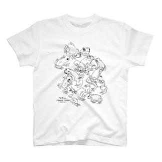 らくがきフロッグ1 T-shirts