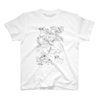 らくがきハリス T-shirts