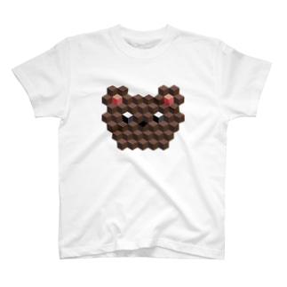 キュービィくま T-shirts