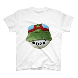 もふの特製Tシャツ T-shirts