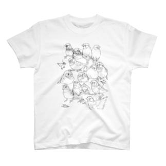 らくがきんかちょう T-shirts