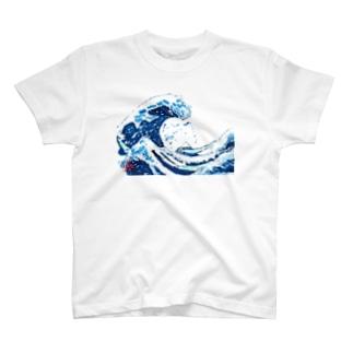 かながわおきなみうら T-shirts