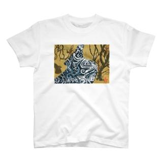 こうはくばいずびょうぶ T-shirts