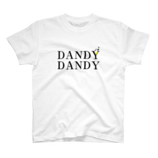 DANDYDANDYロゴ T-shirts